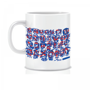 Tim Ferguson Mug Blue & Red