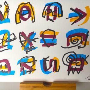 Original Artwork by Tim Ferguson (no 7)