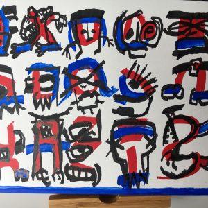 Original Artwork by Tim Ferguson (no 9)