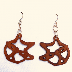 Tim Awt Earrings – Kitler (Wooden)
