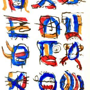 Original Artwork by Tim Ferguson (no. 33)
