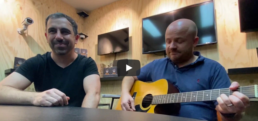 Yianni Agisilaou & Chris Taylor: Covid-19 (a tribute song to Redgum and Covid-19)