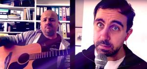 Yianni Agisilaou & Chris Taylor: You Gotta Have Space Space Space (a George Michael / Covid-19 tribute song)